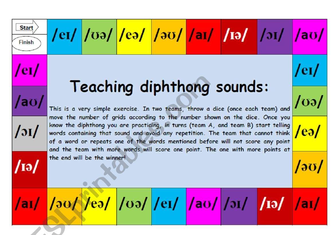 English Worksheets Teaching English Pronunciation