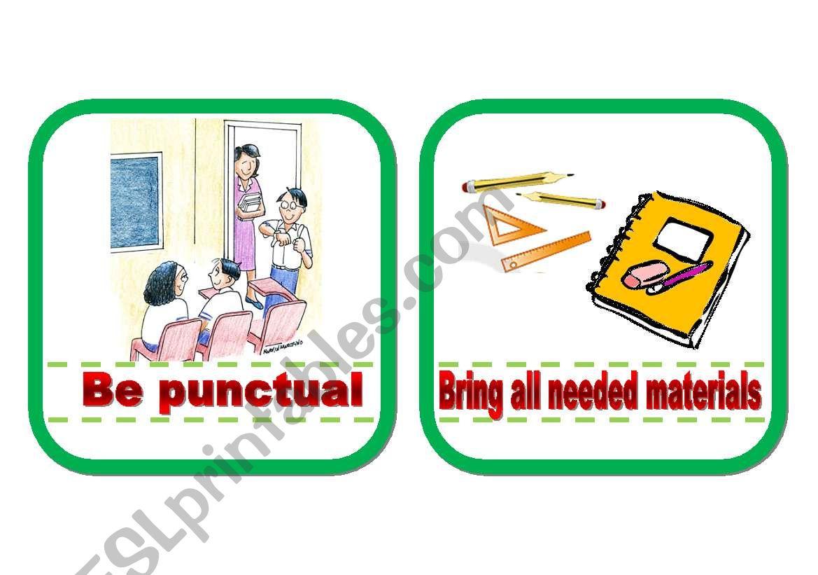 Classroom Rules Part 1