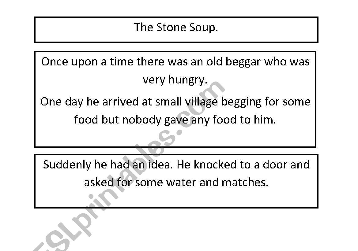 Stone Soup Sequency