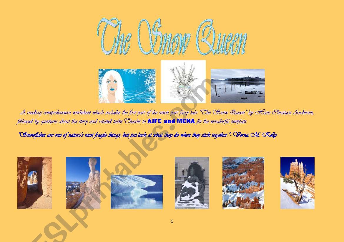 The Snow Queen Story One