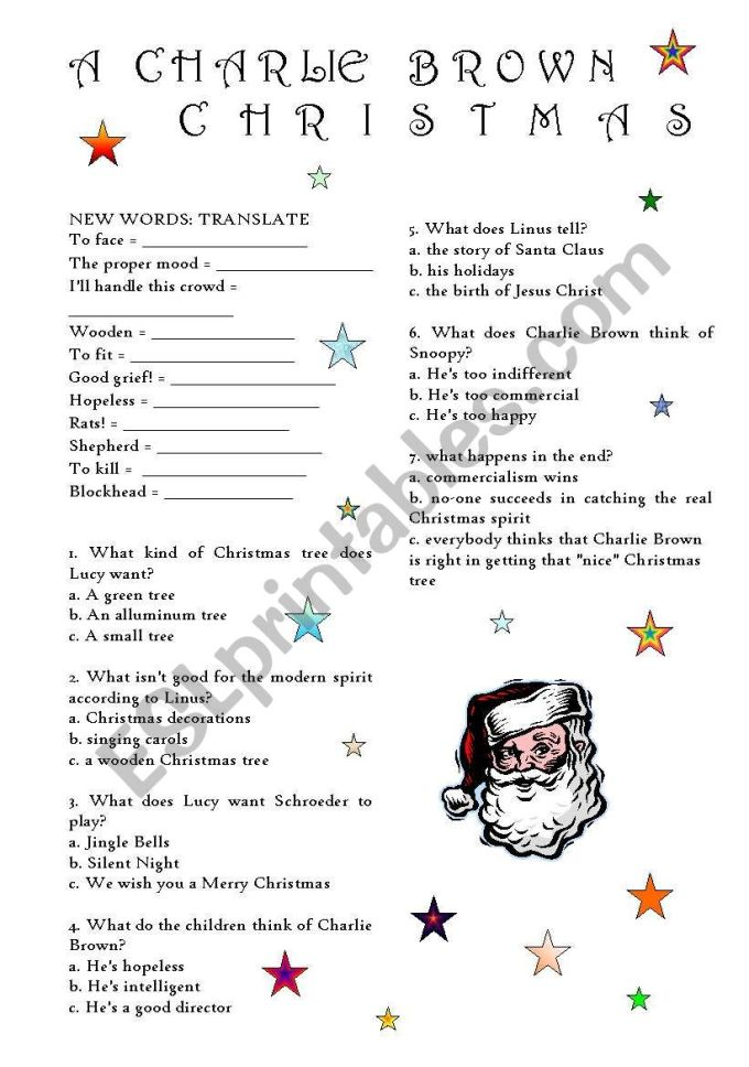 charlie brown christmas printables | Christmaswalls.co