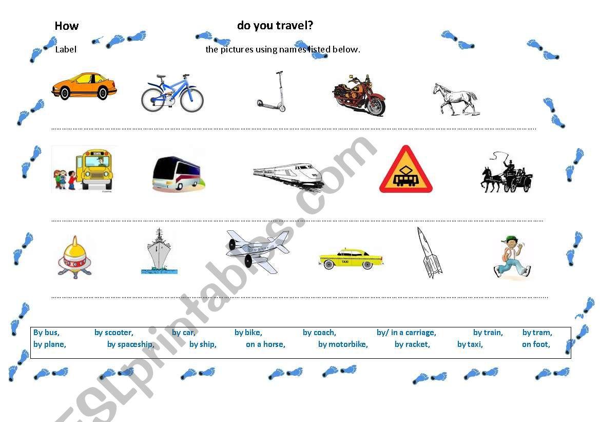 How Do You Travel
