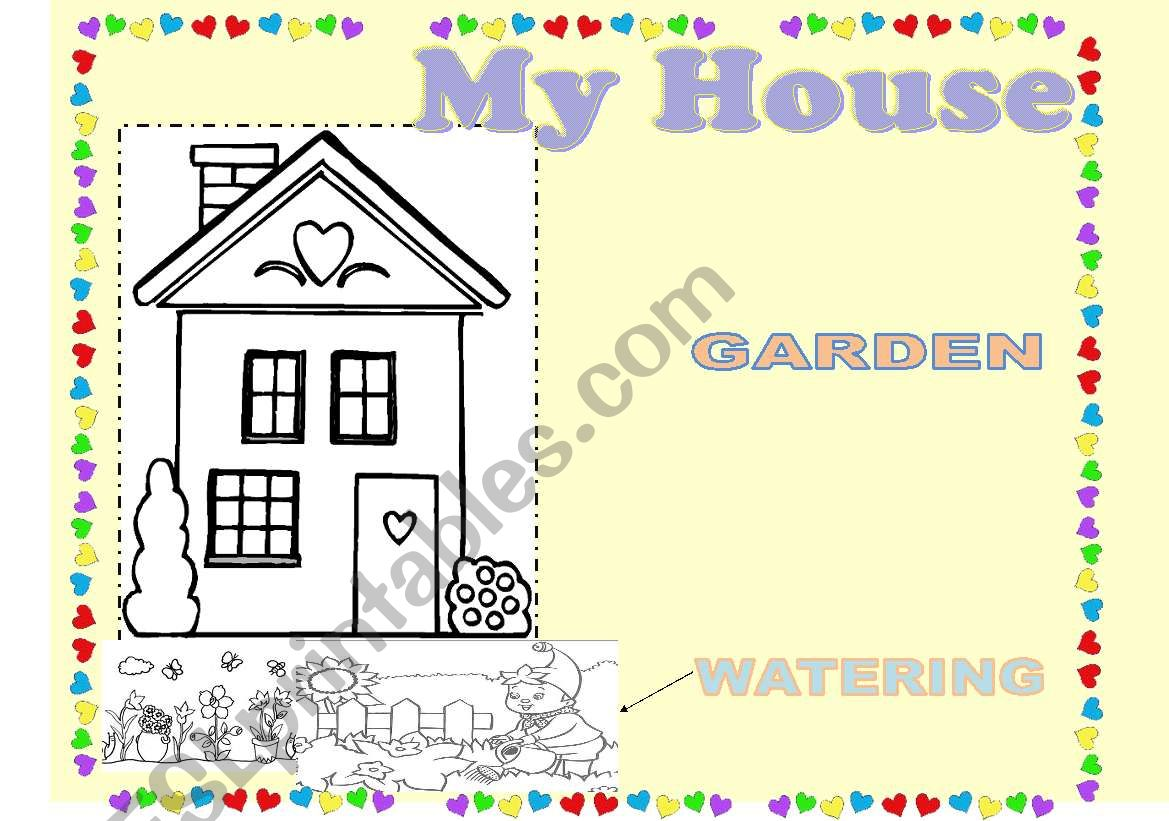 My House To Color