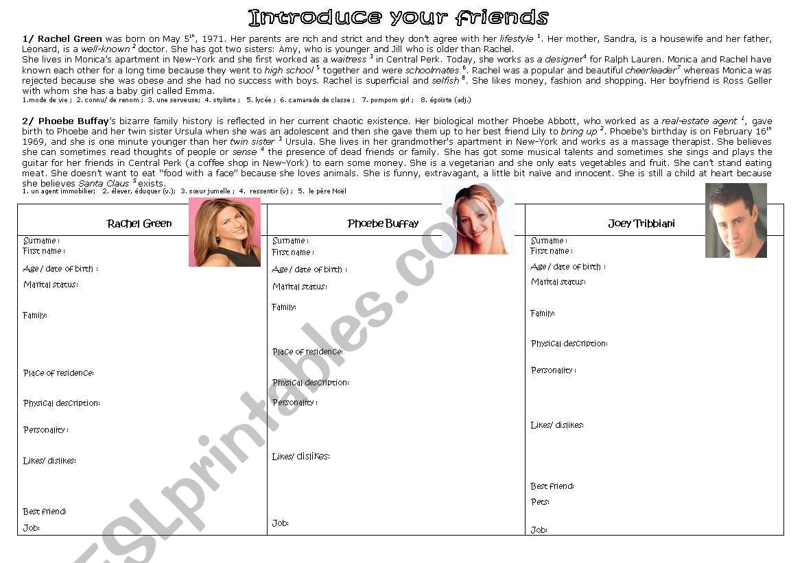 Introduce Your Friends