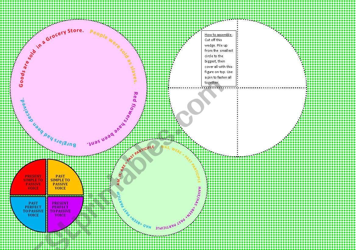 Passive Voice Wheel 1