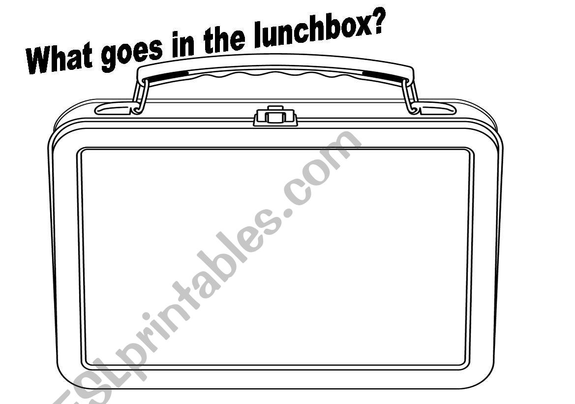 What Goes In The Lunchbox