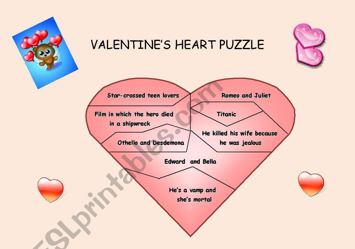 Valentine S Jigsaw Puzzle
