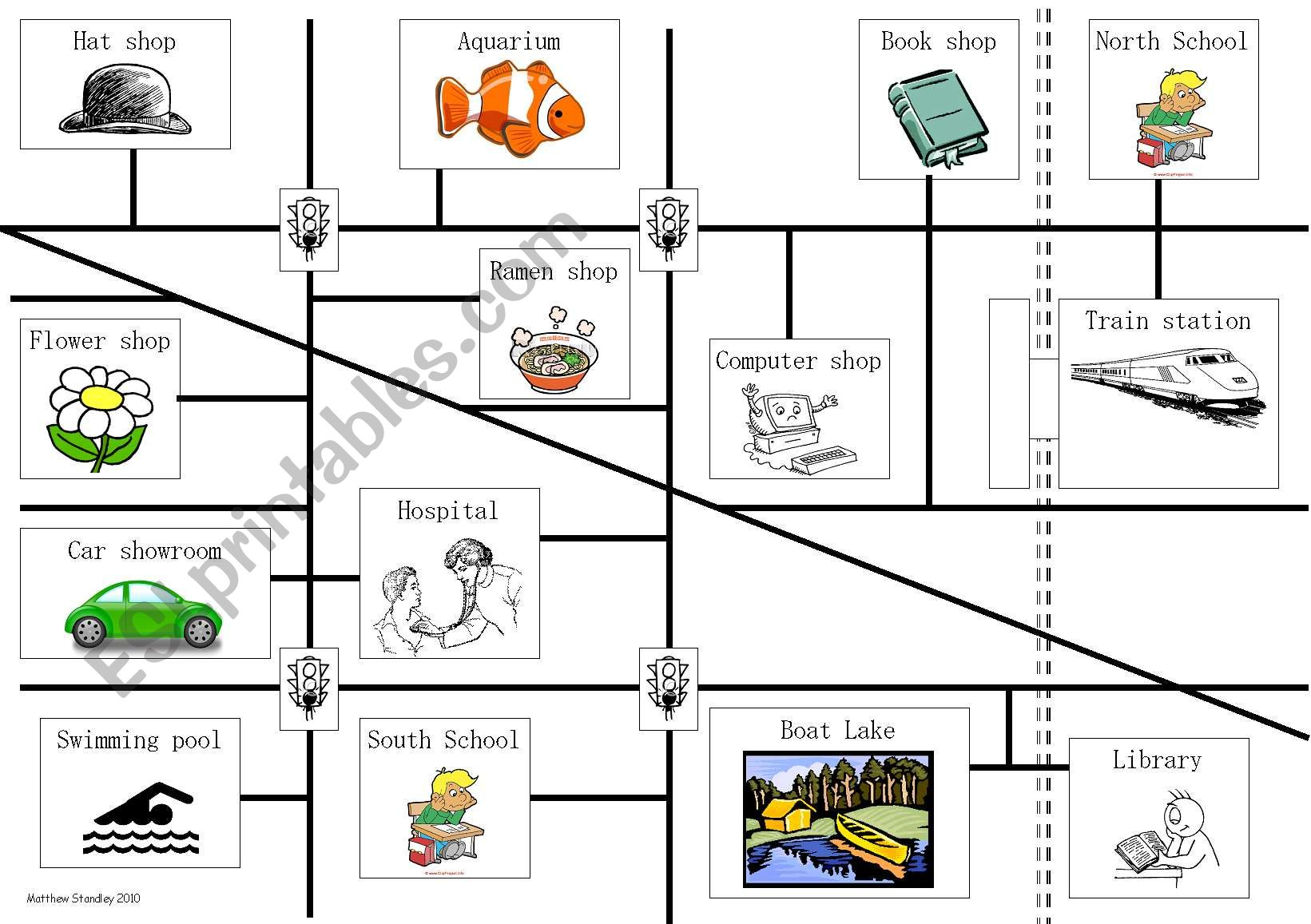 English Worksheets Directions
