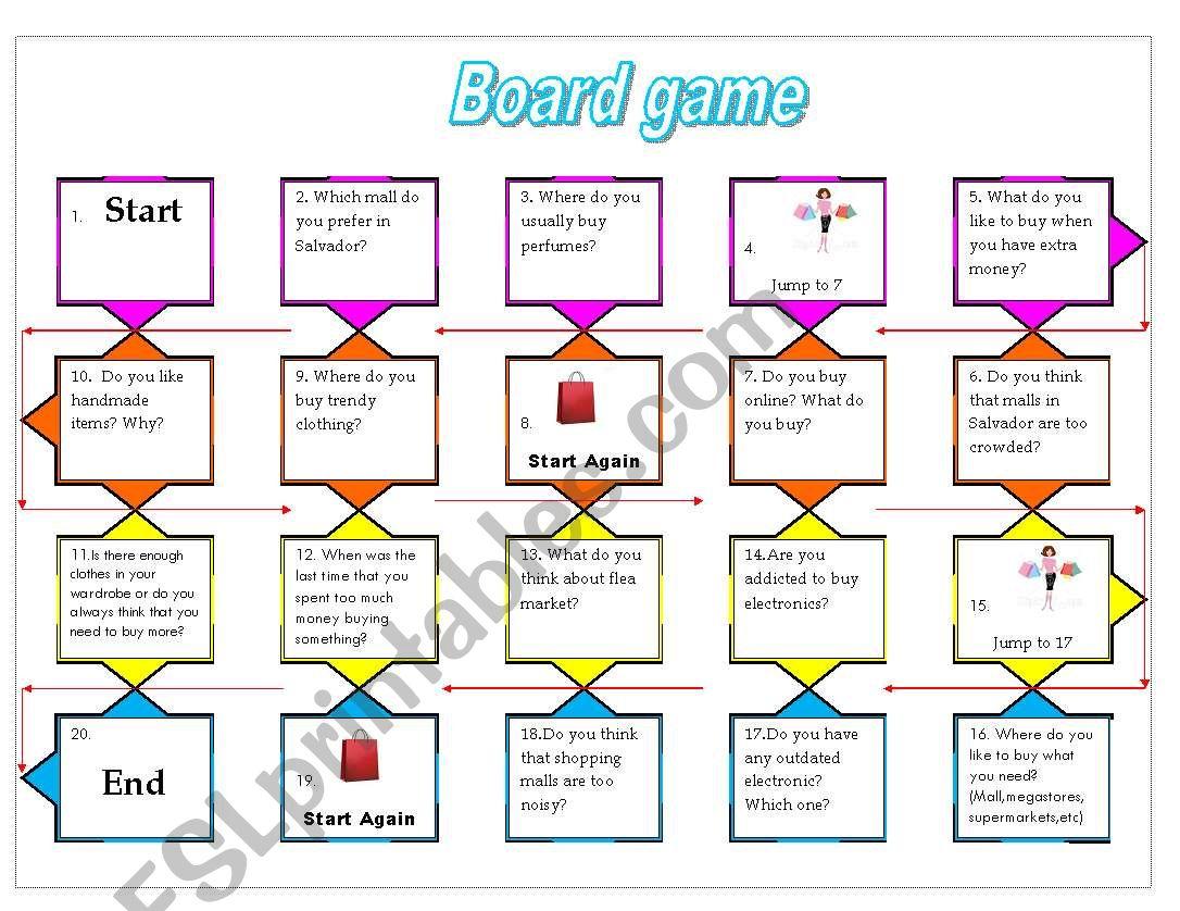 Board Game Shopping