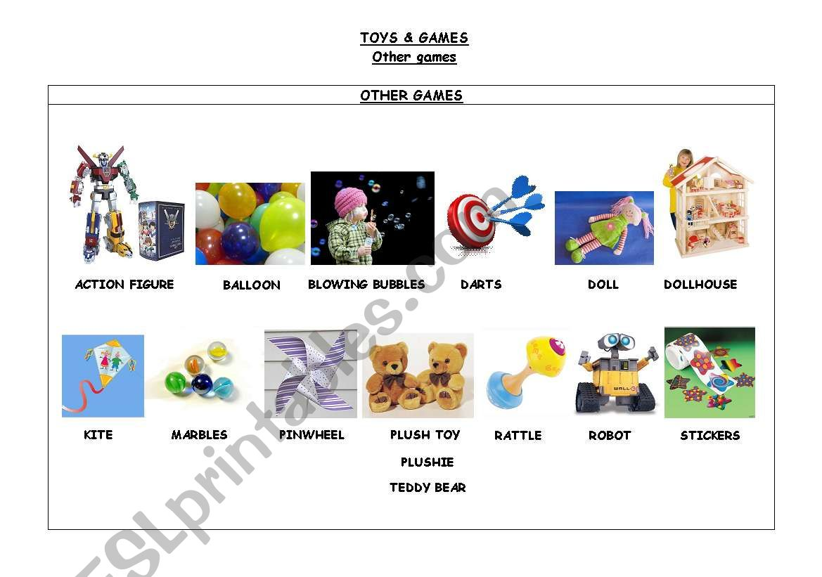 Toys Amp Games Other Games