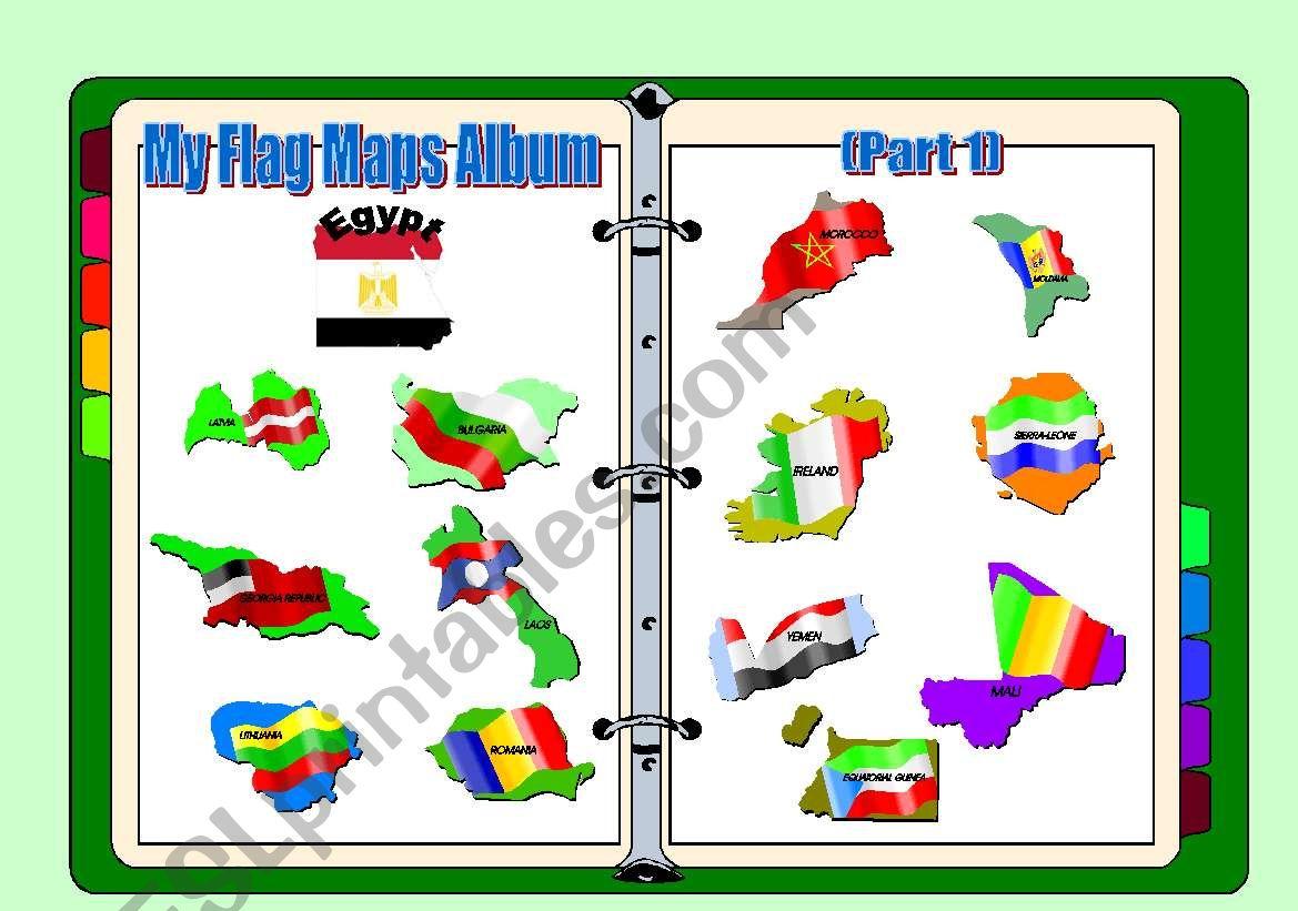 Flag Maps Album Part 1