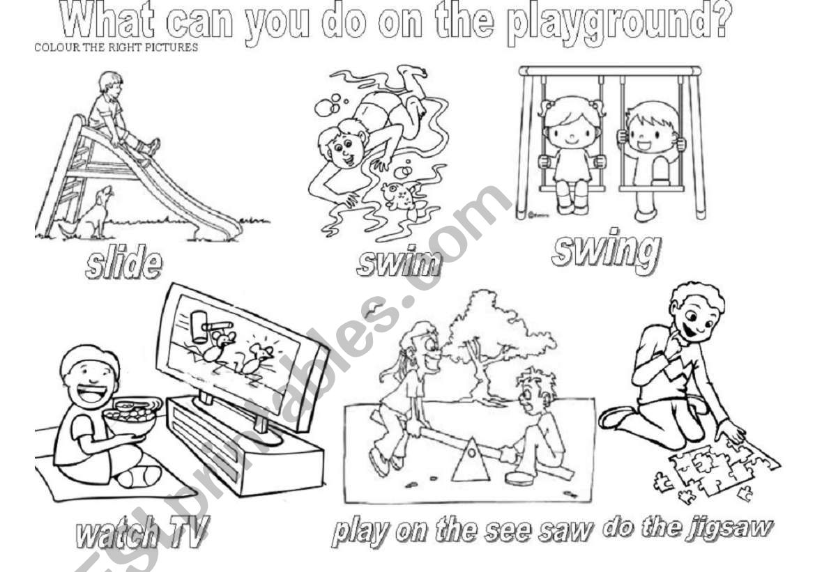 What Can You Do On The Playground