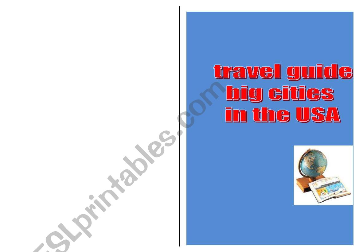 Travel Guide Usa Easy Version