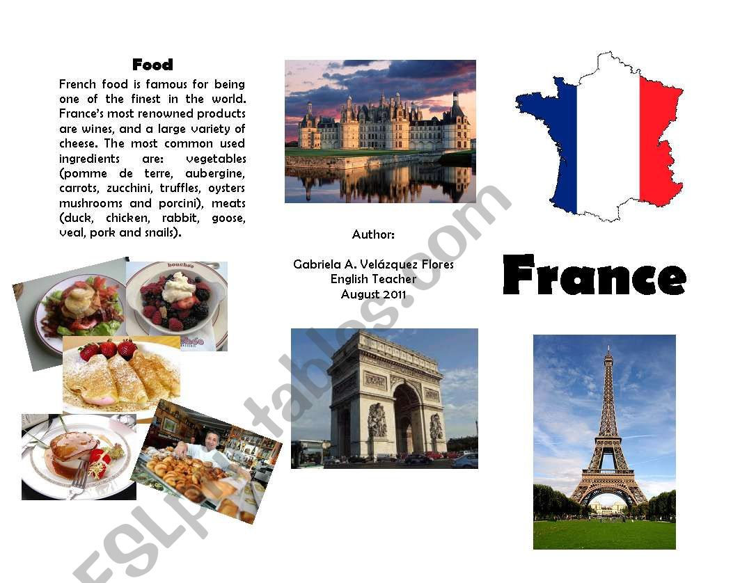 Brochure About France