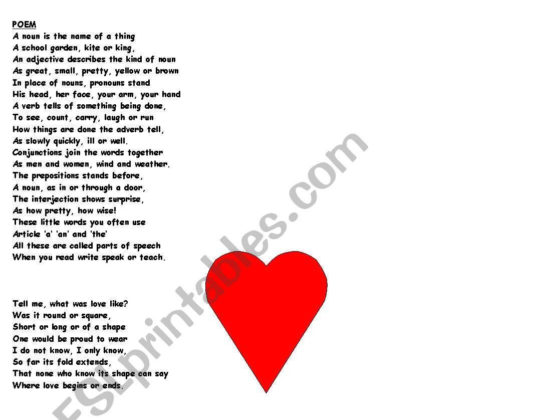 Poem On Grammar