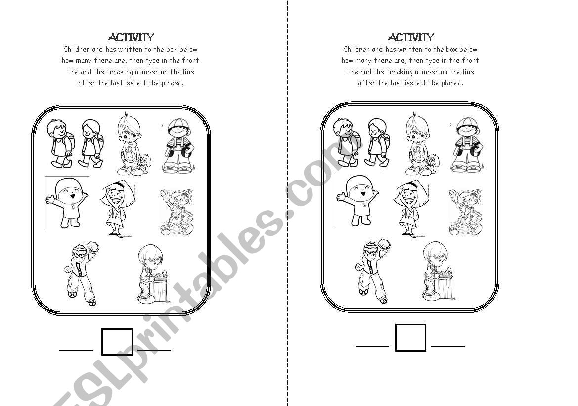 Before And After Concept Worksheet