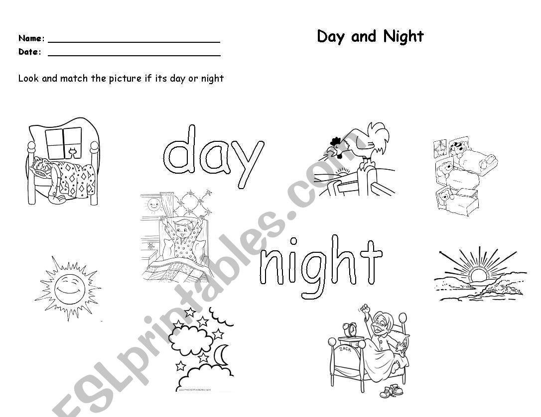 Night Float Worksheet