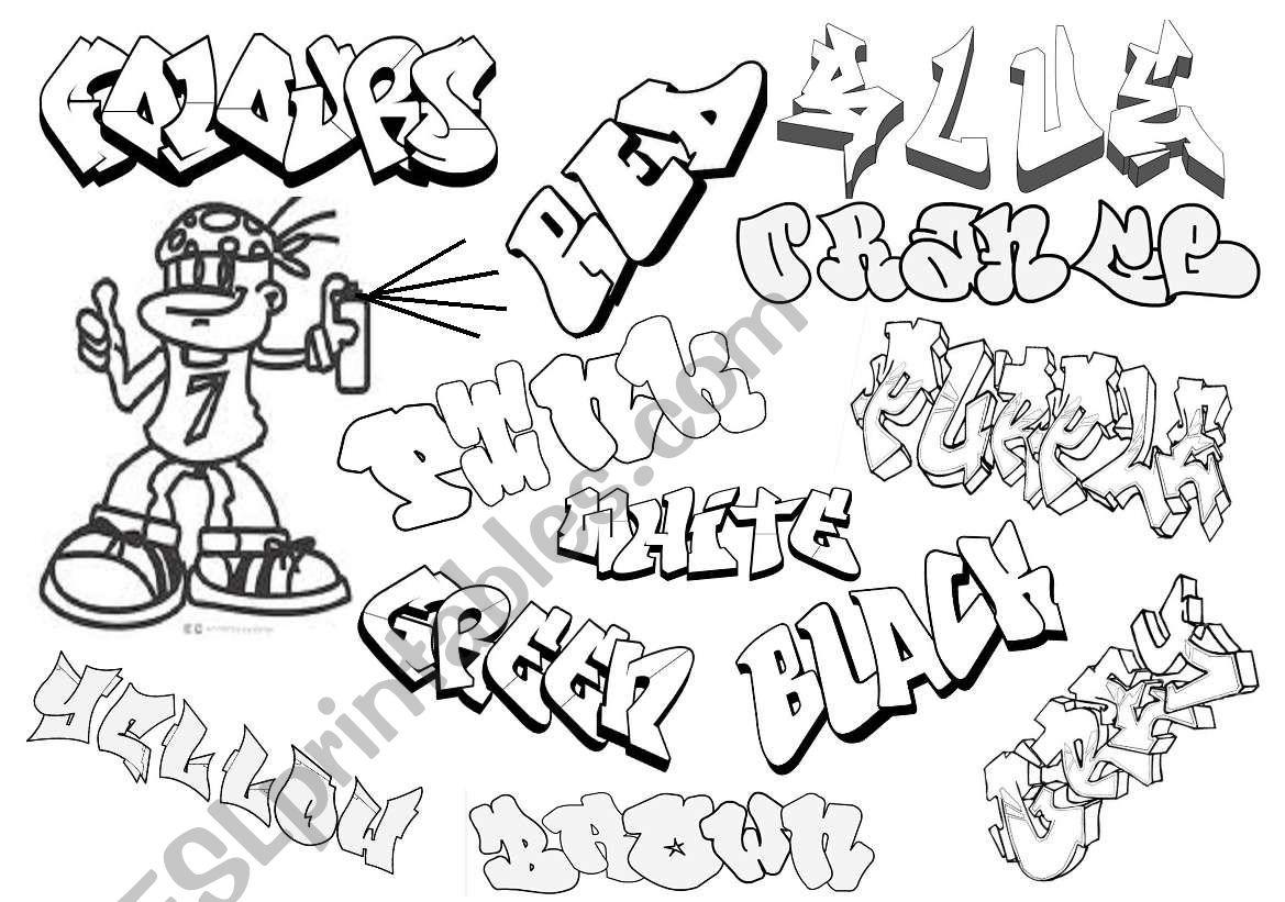Graffiti Colours
