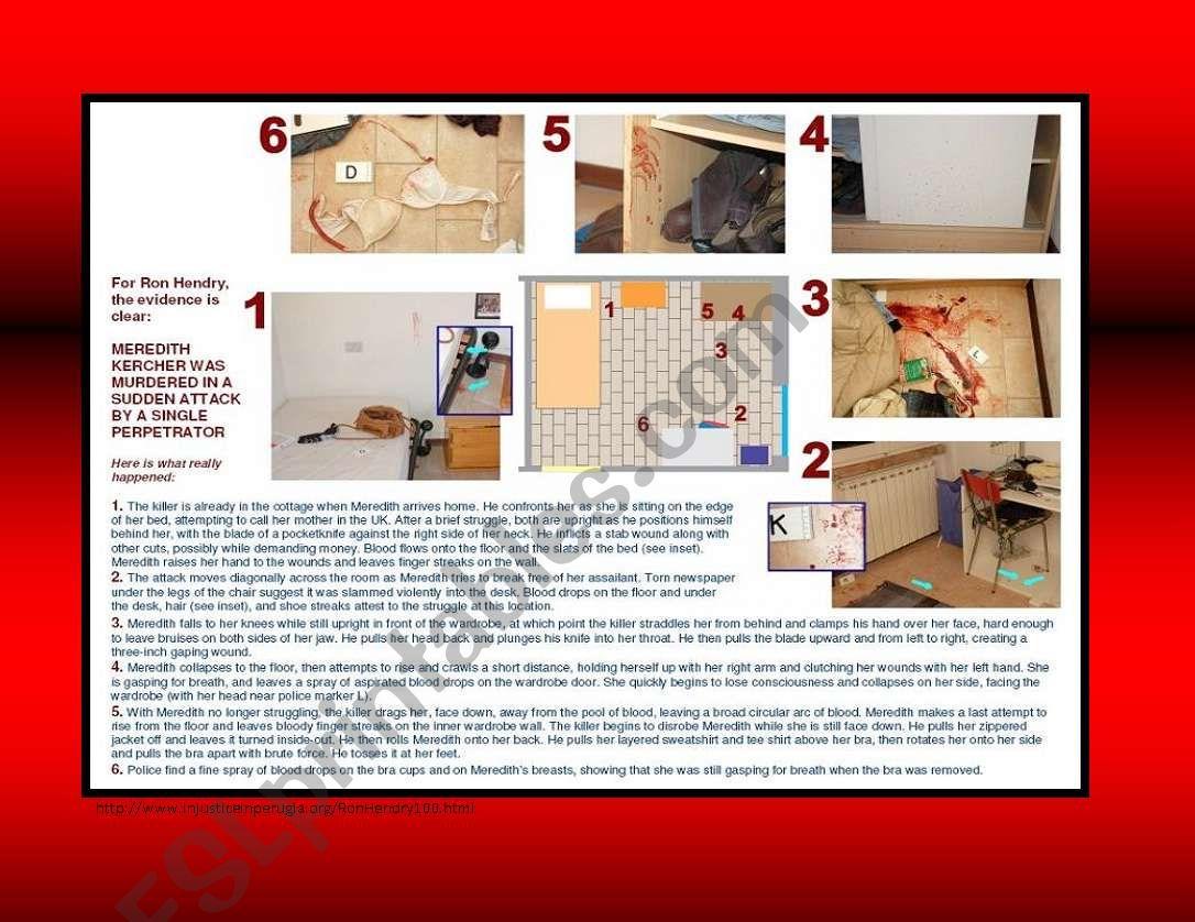 Crime Scene The Amanda Knox Case