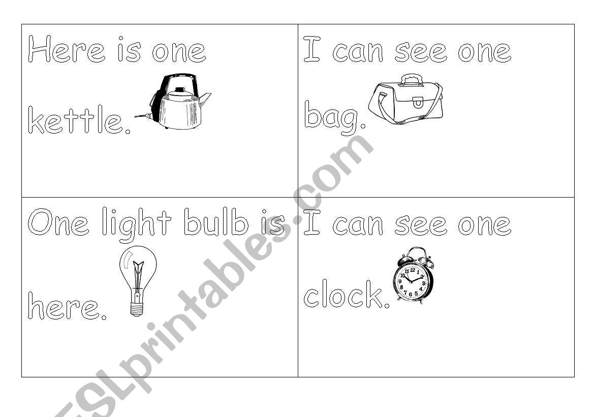 English Worksheets Read And Trace Sentences