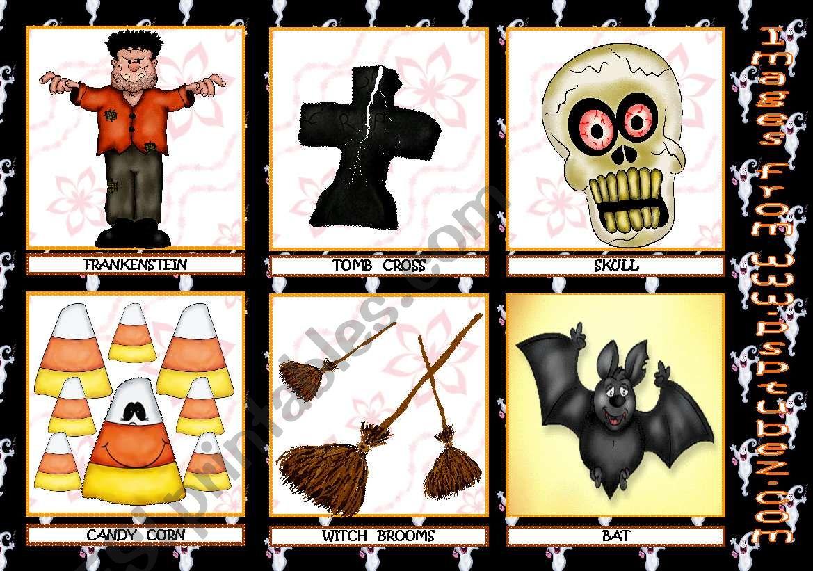 Halloween Flashcards 2nd Set