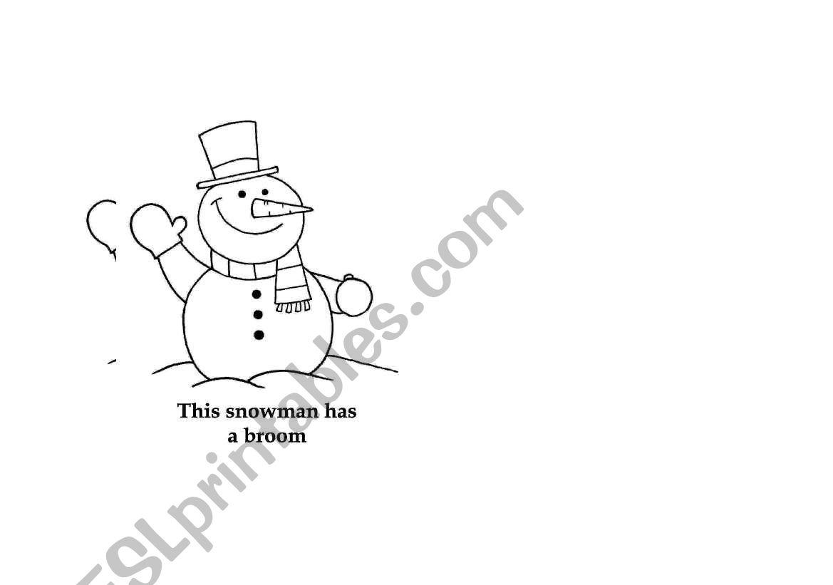 Snowman Book Part 4 4