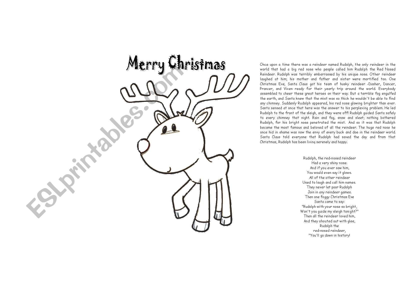 Rudolph S Story And Song