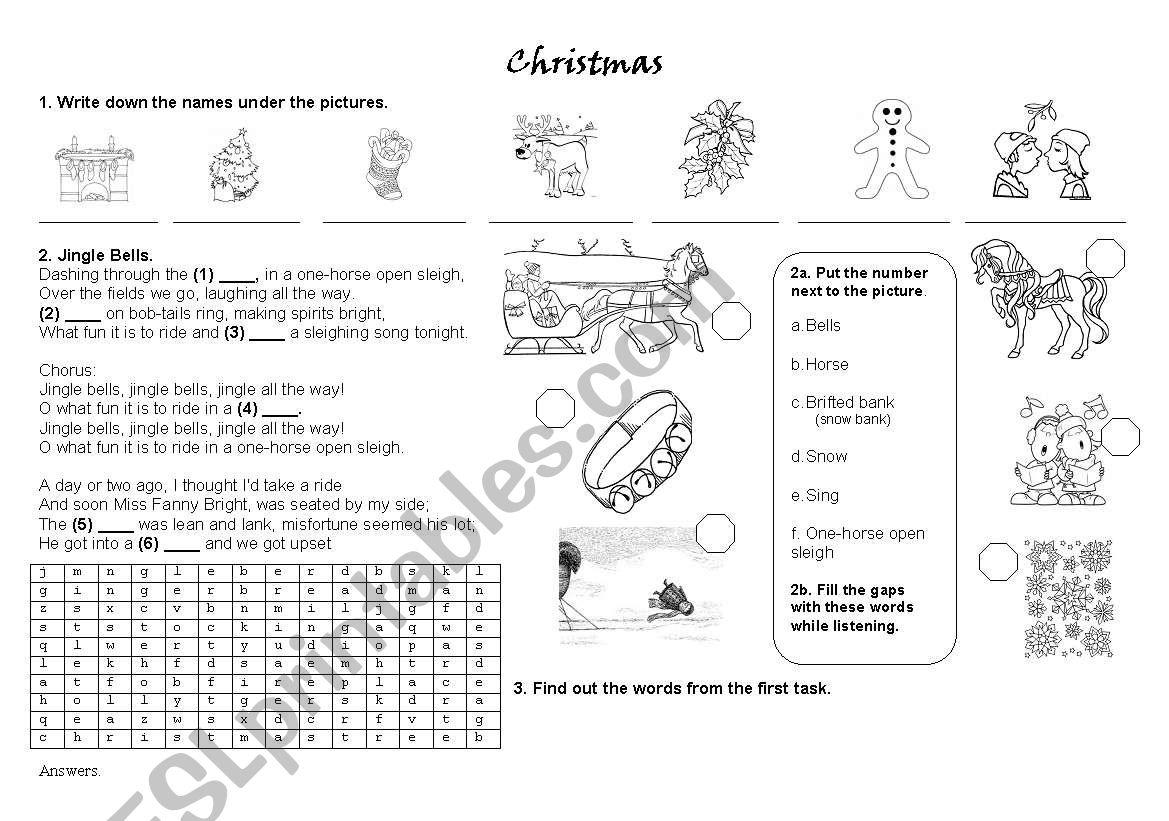 Christmas Song Jingle Bells