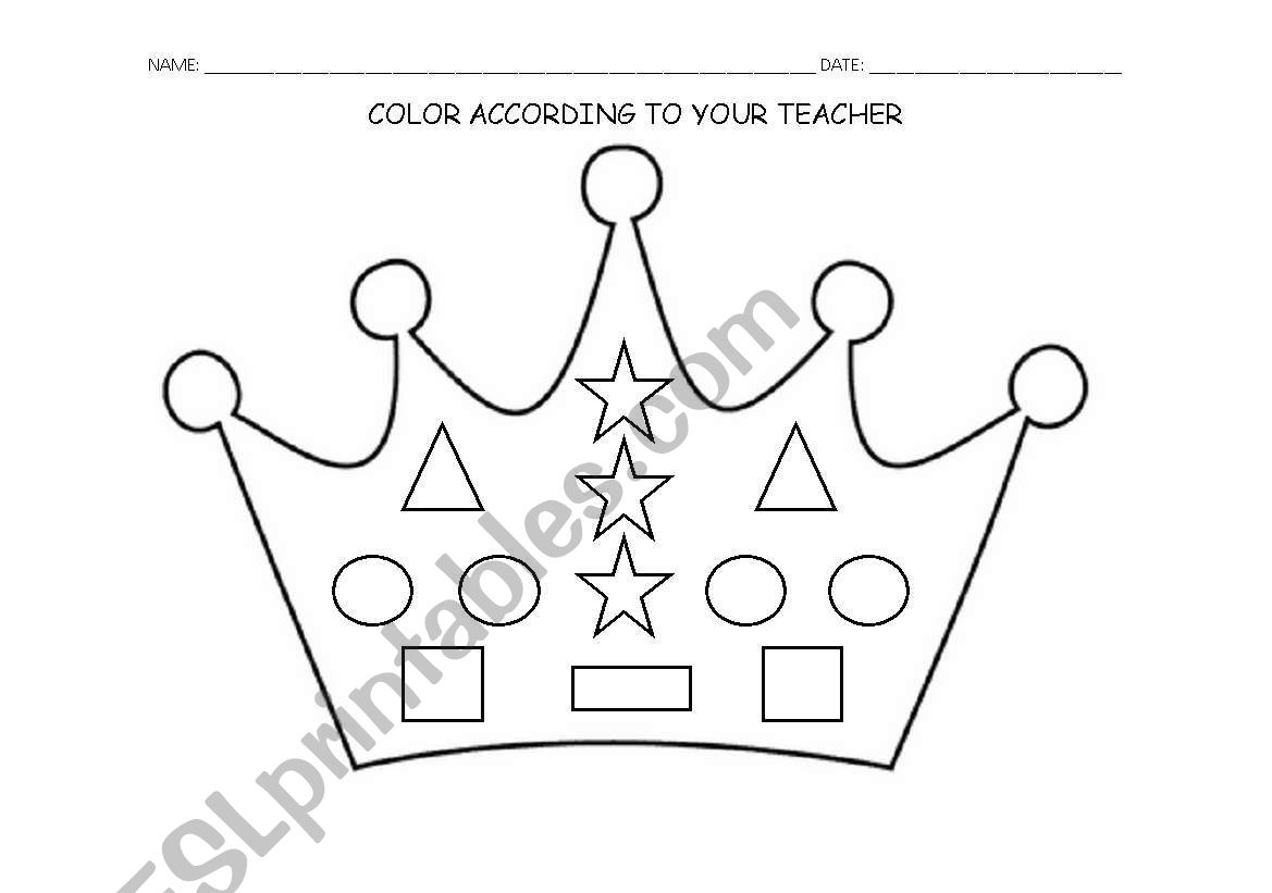 Crown And Shapes