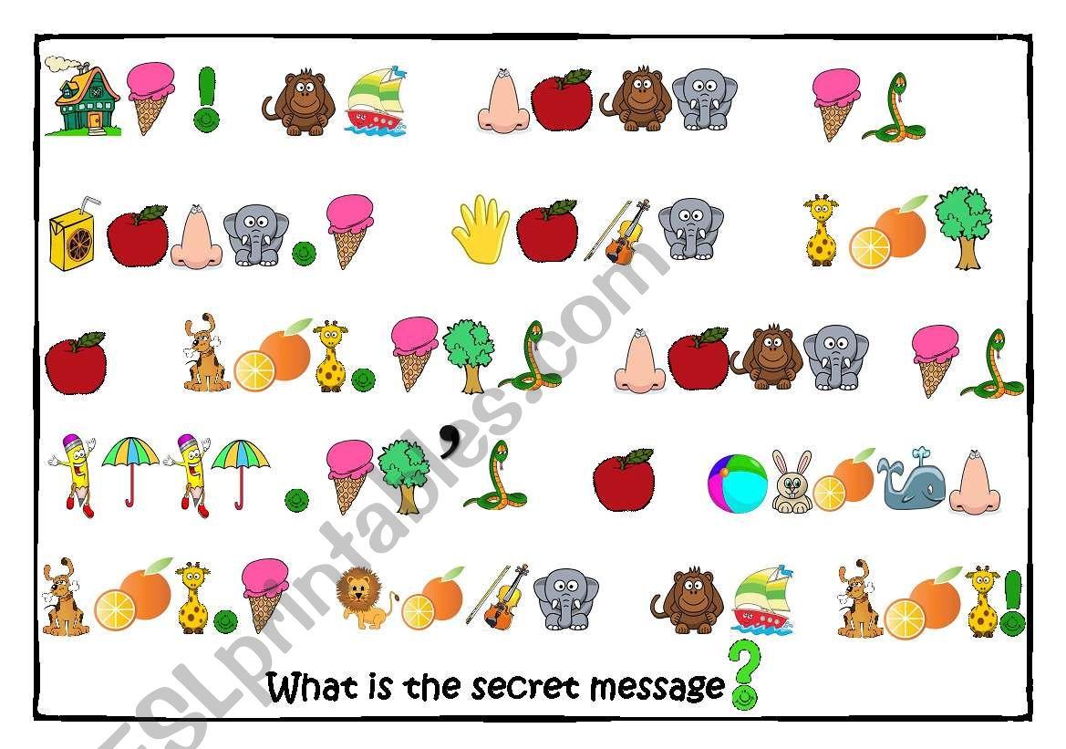 Secret Message Game 1