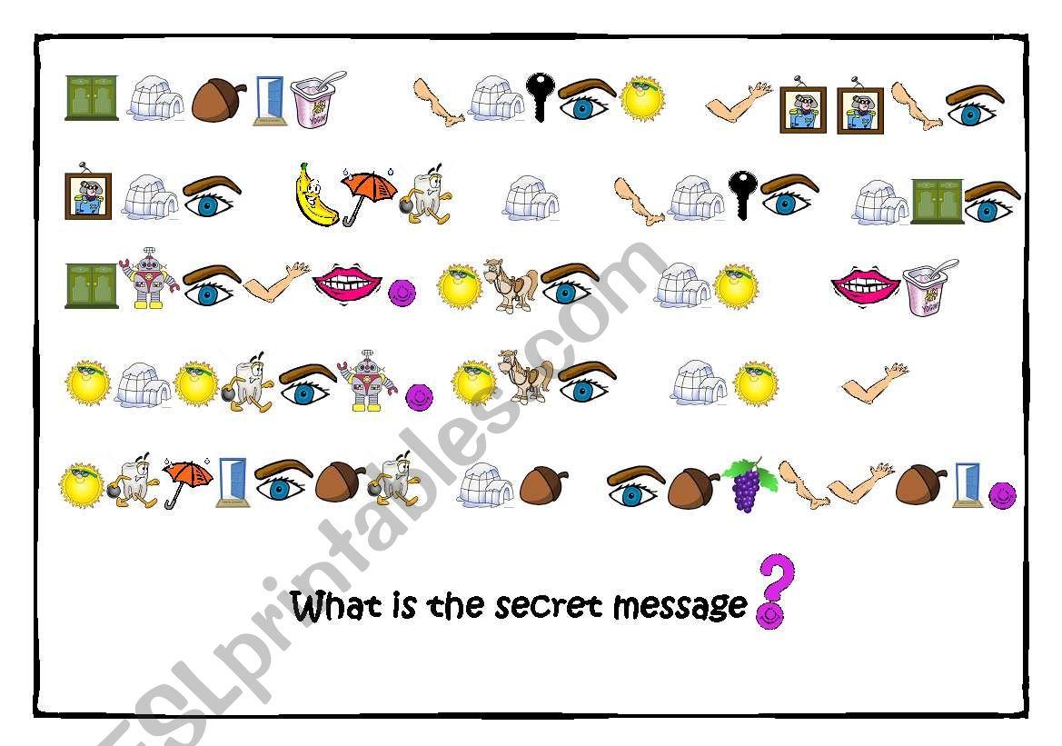Secret Message Game 2