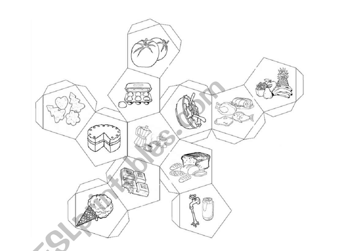Dodecahedron Of The Food Part2