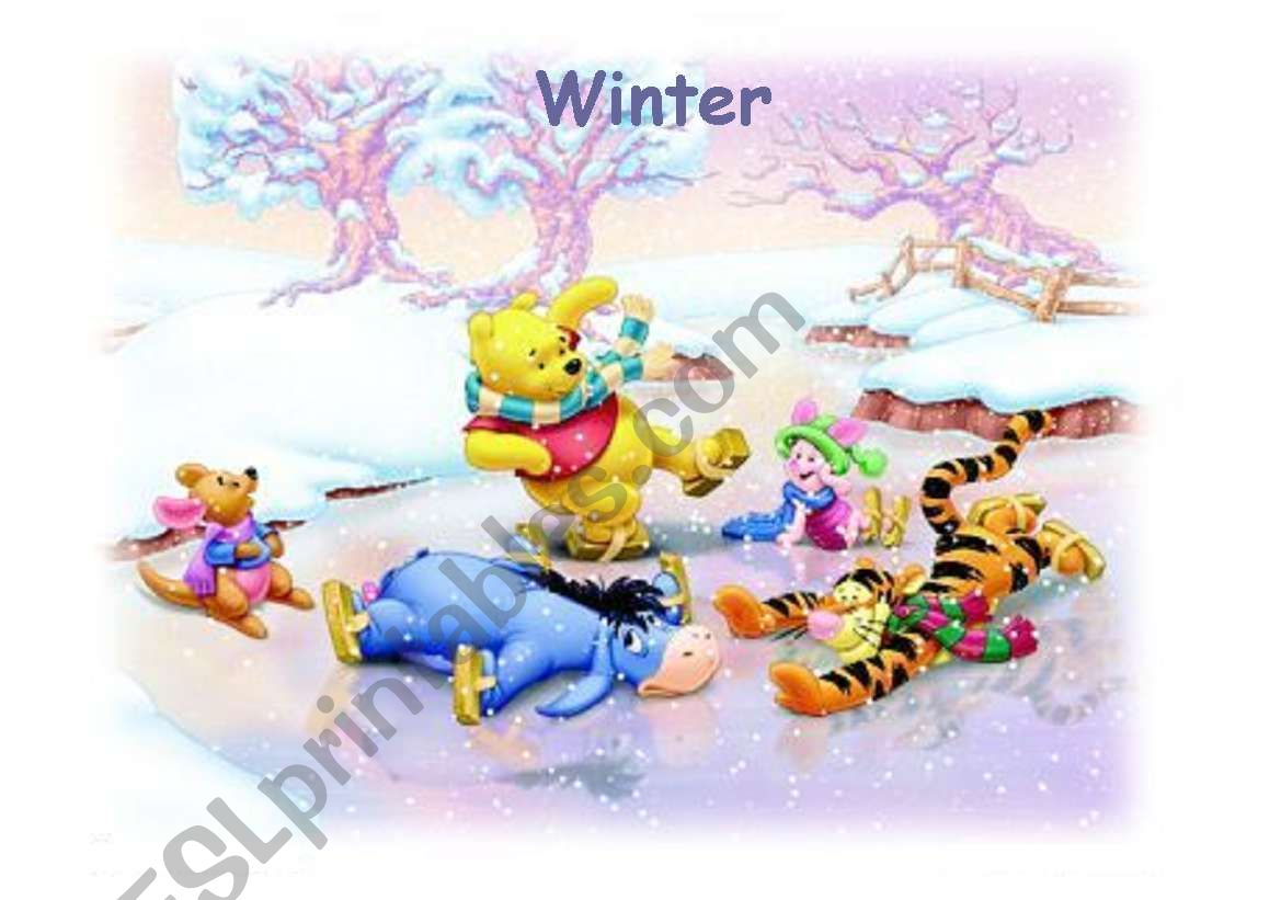 Pooh Winter