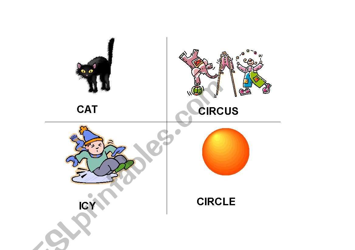 English Worksheets Hard Soft C Amp G Flash Cards 1