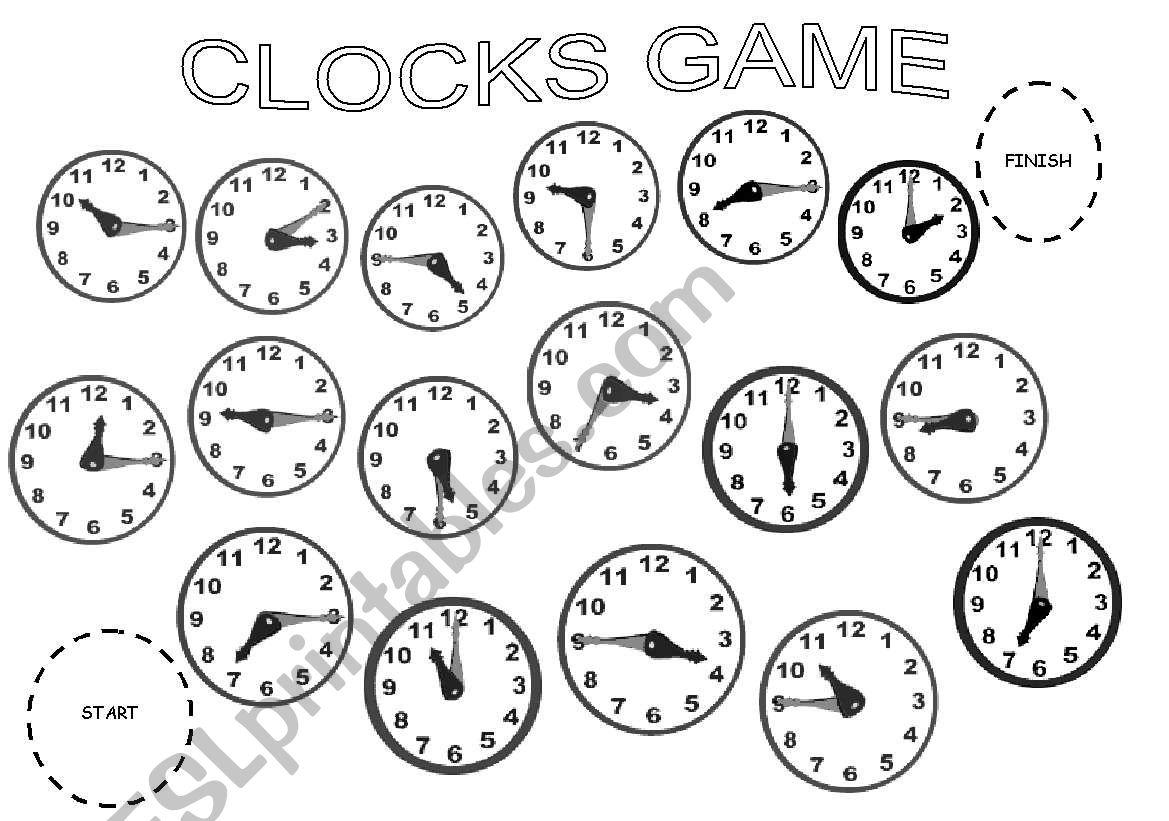 Clocks Game