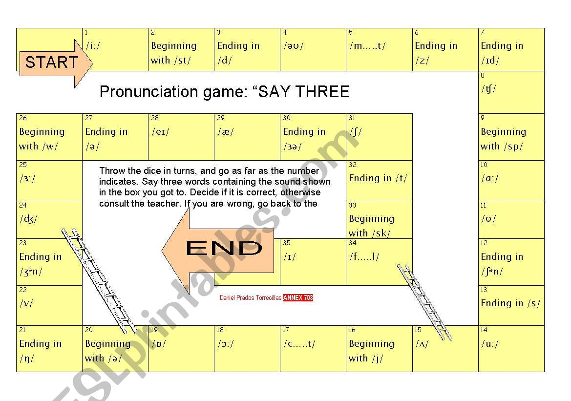 Pronunciation Game