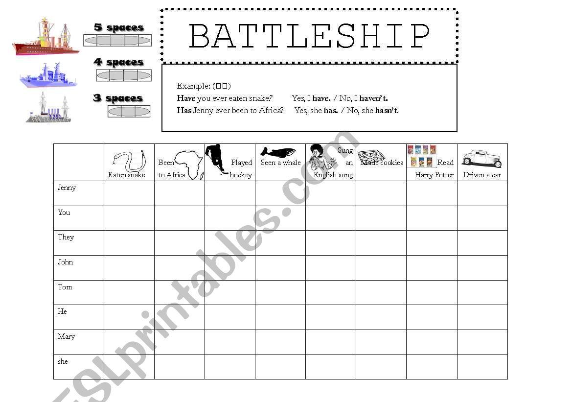 Have You Ever Battleship