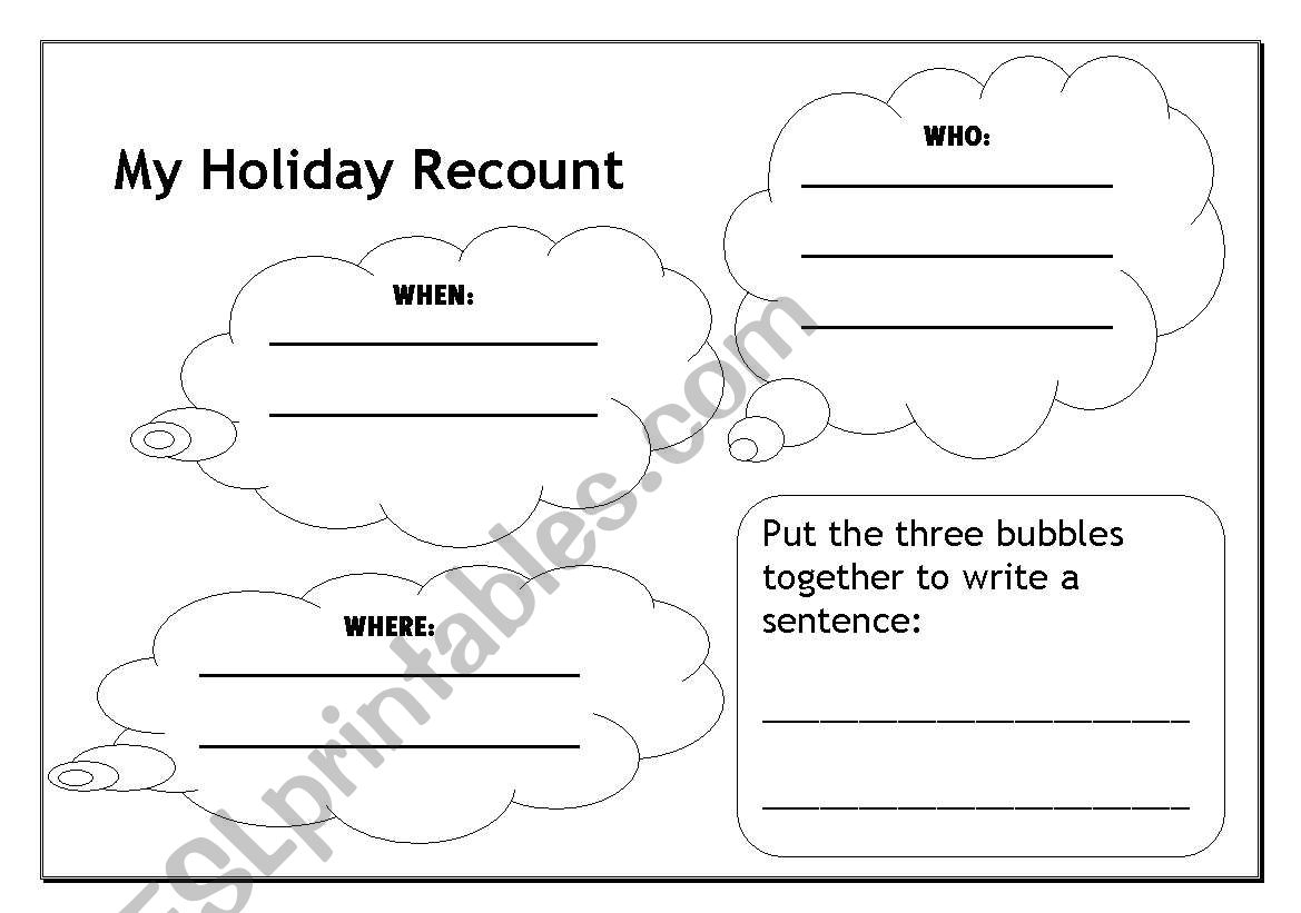 My Holiday Recount