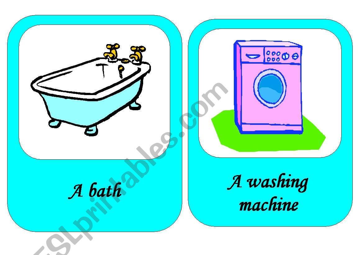 Furniture Flashcards 3 4