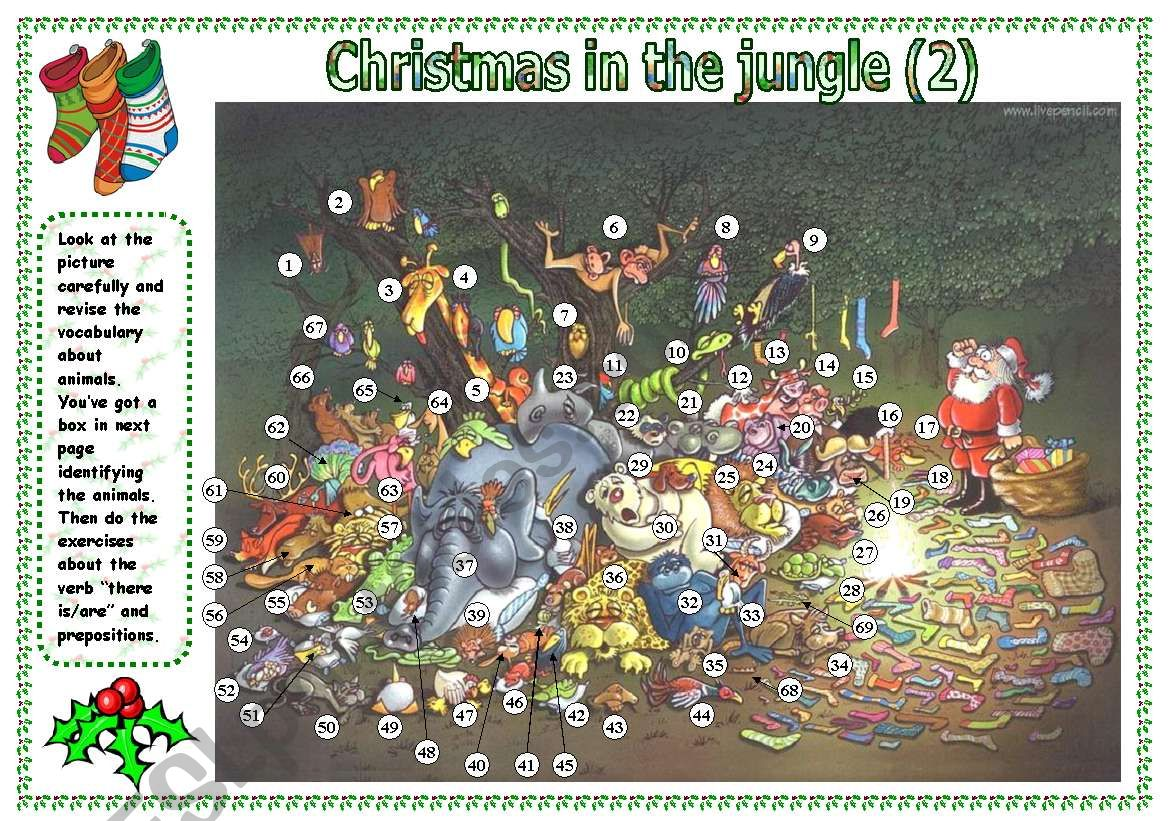 Christmas In The Jungle Part 2 There Is Are