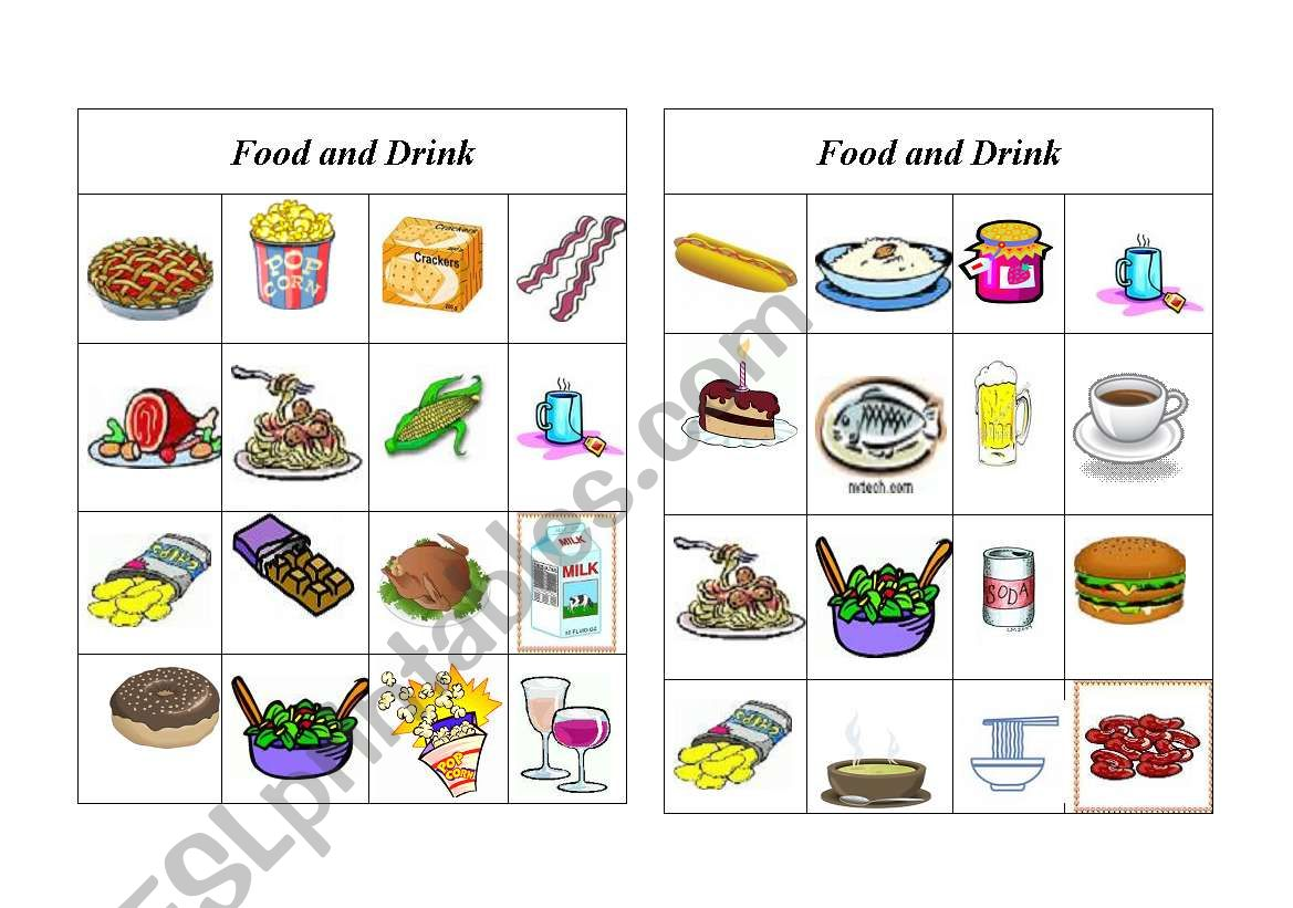 Bingo Food And Drink 8 Of 8