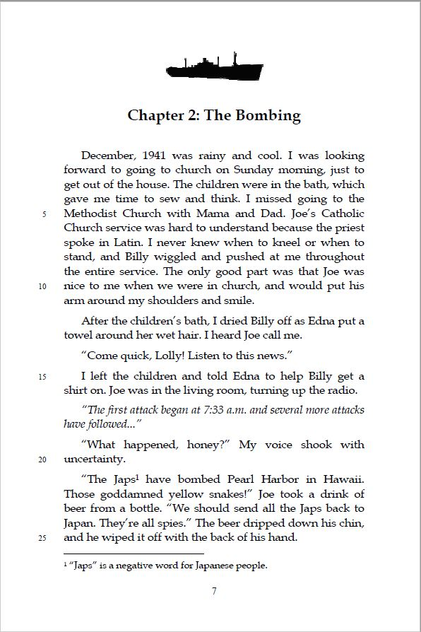 Chapter Sample Text