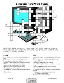 esl computer vocabulary worksheets english vocabulary printable