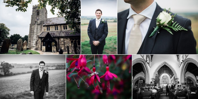 Groom Portraits rustic country wedding stratford upon avon warwickshire