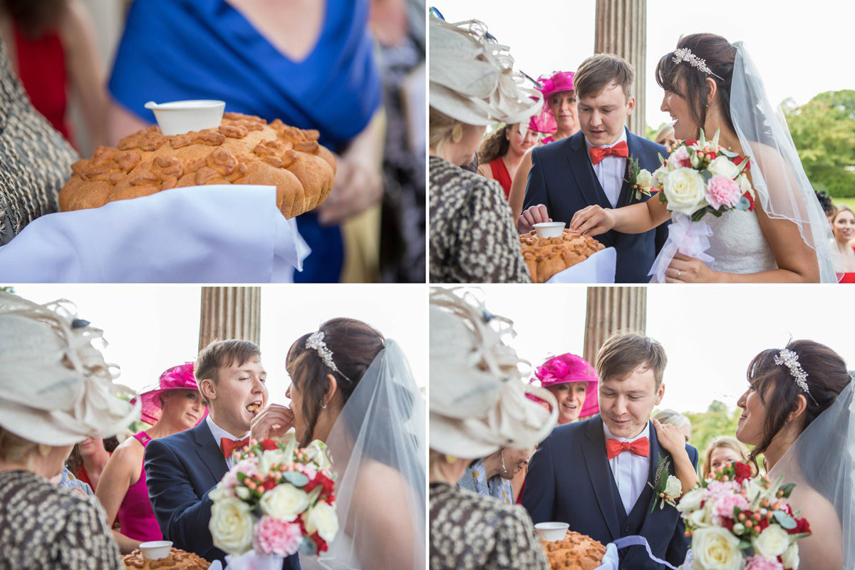 russian tradition of tearing the bread at wedding