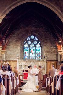 wedding ceremony church wedding st john baptist Wolvey