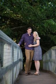 couple on bridge saxon mill warwickshire