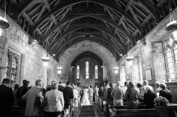 wedding ceremony st giles church