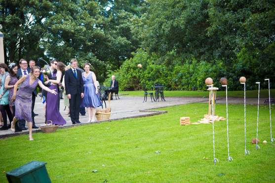 coconut shy wedding lawn games fun quirky relaxed