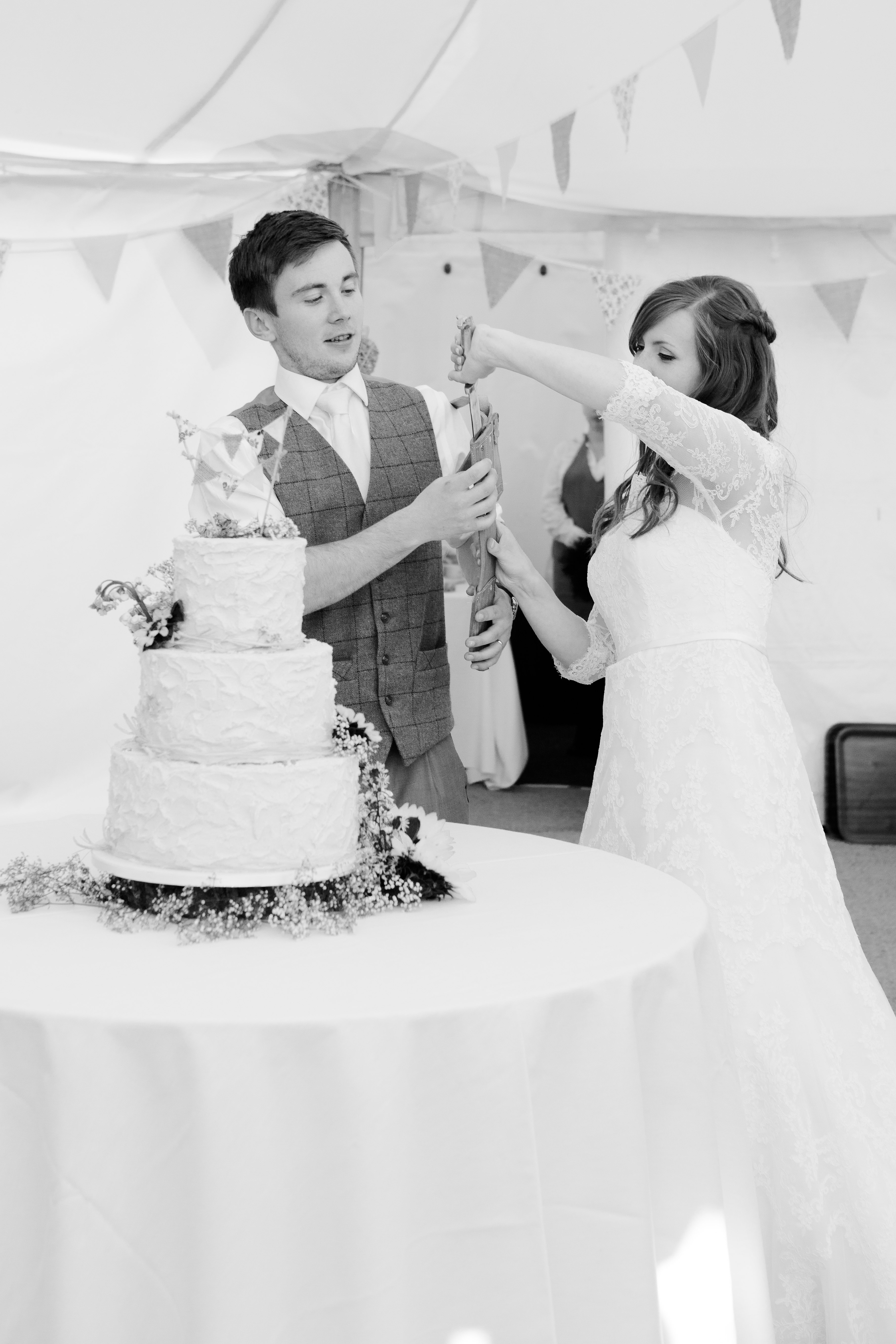 Cutting of the Cake Gift Knife
